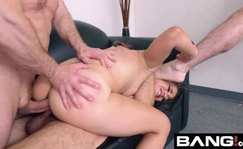 BANG Casting: DP Lover Ziggy Loves Getting Fucked By 3 Cocks|1,007 views
