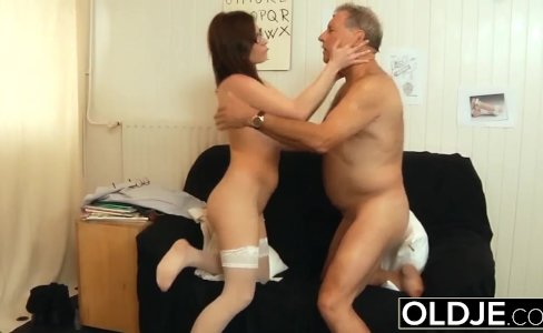 Old and Young Nurse Turns Checkup into Sex and Fucks in doctor office|466 views