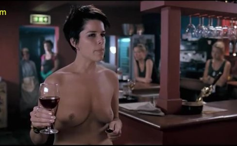 Neve Campbell Nude Boobs In I Really Hate My Job Movie|35 views
