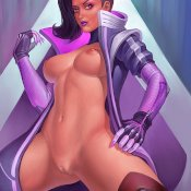 Rule 34 - Overwatch - Sombra Image 25