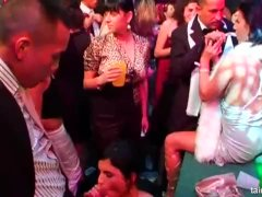 Pornstars take dicks at casino party