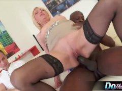 Mature milf Adriana Love rides a dick