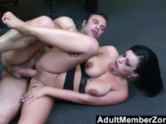 AdultMemberZone  A Massage Gets This Busty
