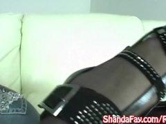 Kinky Milf Shanda Fay gets Her Feet Fucked!