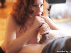Sexy Redhead BJ Experience