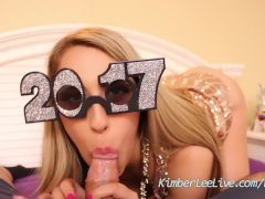 Kimber Lee Blows Her Bro for the New Year!