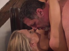 Adorable Ivana Sugar hardcore cunt fucked by an old businessman
