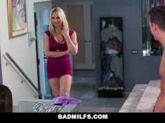 BADMILFS - Cute Teen Learns To Fuck Thanks To Mom