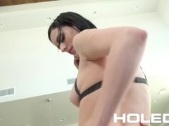HOLED Harness body bondage and anal for Alex Harper