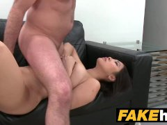 Fake Agent Big boobs Asian wants hard fuck on the casting couch