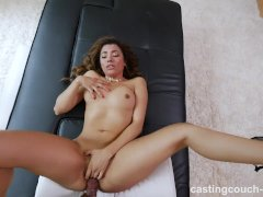 Hot exotic babe fucks to get into a rap video has squirting orgasms