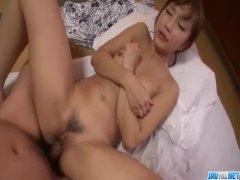 POV pleasures for woman in sexy kimono Anna Anjo