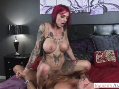 Hot Step Mom Anna Bell Peaks and my cock