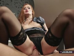 LaSublimeXXX - Denisa Heaven takes big cock in her tight pussy