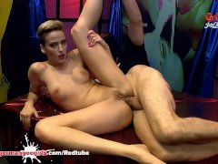 German Goo Girls - Ria Sunn Double Penetrated And Creamed