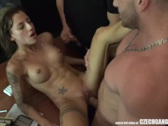 Dirty Party Gangbang with Czech Crazy Twins
