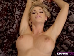 MomsTeachSex - Cumming On My Hot Stepmoms Big Tits! S9:E4
