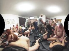 Biggest Home Swingers Party in 180В° VIRTUAL REALITY