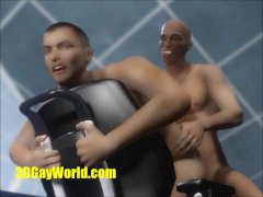 Animated 3D Gay Sex and Virtual Cumshots in O