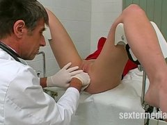 Doctor fucks patient in sex practice
