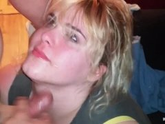 Throat Fucked Wife With Dirty Talk