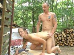 Arbeiten im Wald