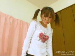 Japan girl pissing panties