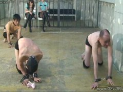 Foot worship, Two Japanese Mistress whipped t