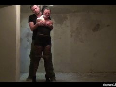 Vixen bound gagged stripped whipped vibed