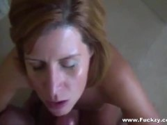 Cum On Face For Real Cheating Mommy