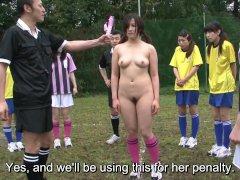 Subtitles ENF CMNF Japanese nudist soccer