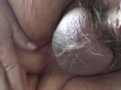 Solo daddy anal toy fuck