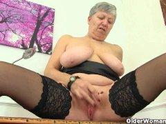 British granny Savana needs getting off