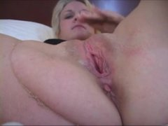 Blonde Slutty Wife Gets Insemnated by 2 BBCs