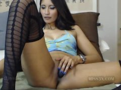 Hot asian pussy webcam video