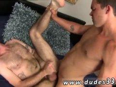 Intense gay cum inside Hot Fuck!