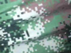 sexo anal militar gay casero