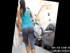 Public Spycam On Young Fresh Teen