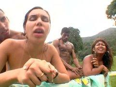 Big Bubble Butt Brazilian Orgy 06