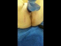 Masturbation selfie of BBW mother Stephanie