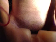 Fucking My Mini Sex Doll/Watching Porn/Cum
