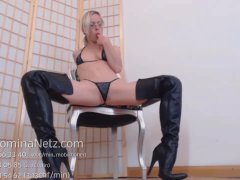 Poppers Rush JOI Teasing Boots Ass Tease and Denial Humilation