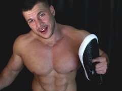 Every Rip Is A Turn ON Cocky Decadent Muscle Hunk Verbal And Cum