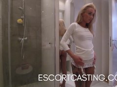 Real Escort Video of Teen In Paris Taken Back To Client Flat