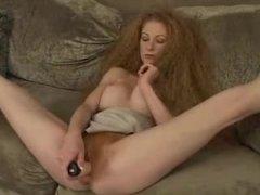 1fuckdatecom Redhead hairy amateur solo red