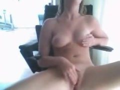 WEB CAM SLUT MASTERBATES AND PLAYS WITH HER NIPPLES