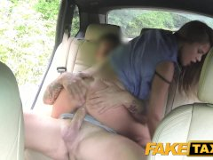 Fake Taxi Lady wants to see drivers big cock