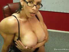 Denise Masino - Momma Nipple Pumping Video - Female Bodybuilder