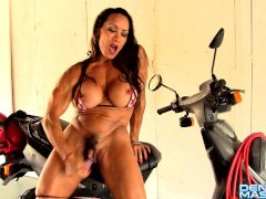 Denise Masino - Full Speed Bikini - Female Bodybuilder