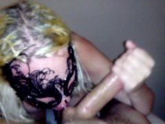 She loves big cock down her throat